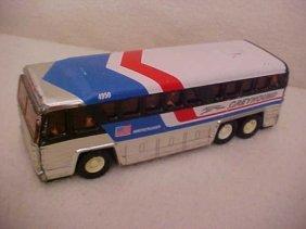 17: 1979 Buddy L Corp. tin litho  Greyhound bus