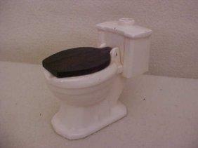 19: 1974 Toilet ashtray w/paperwork