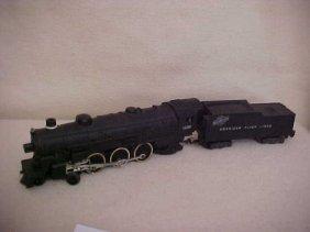 13: AC Gilbert Co. American Flyer electric locomotive