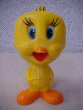21: 1976 Mattel pull string tweety bird