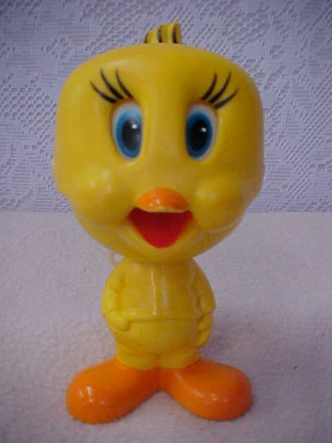 21: 1976 Mattel pull string tweety bird