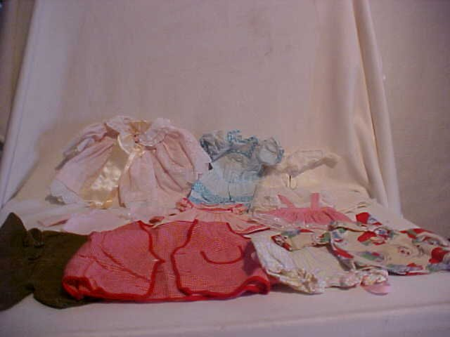 4: Lot of 10 doll clothes/outfits