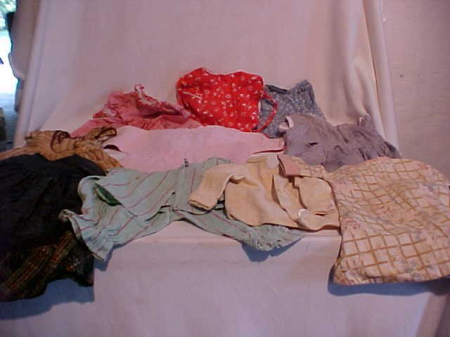 5: Lot of 10 doll clothes/outfits