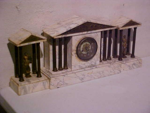 12: Marble clock set