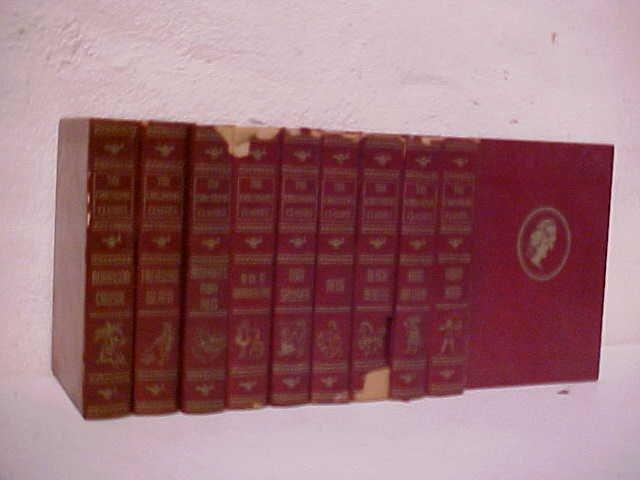 """22: Set of 10 """"The children's classics"""" books 1923-1931"""