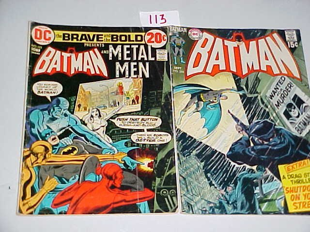 113: Lot of 16 Batman Comics.