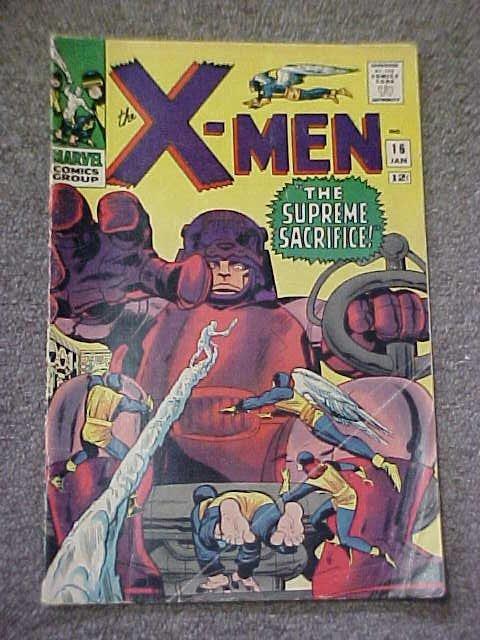 118: Lot of 2   X- Men Comics #1 & 16.