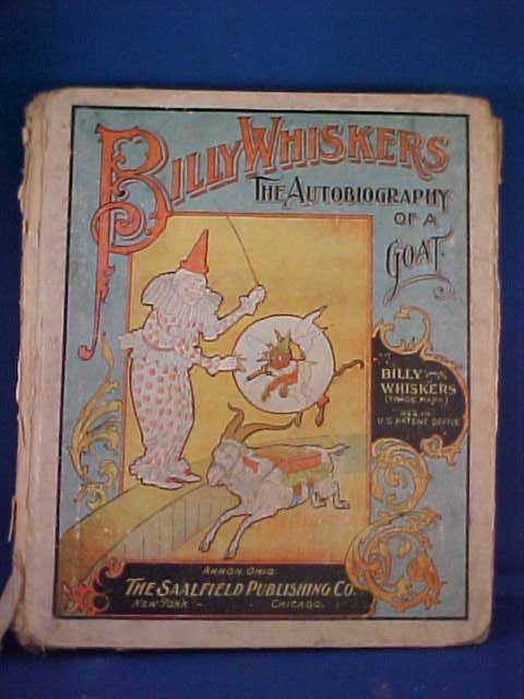 6: 1902 Book Billy Whiskers.