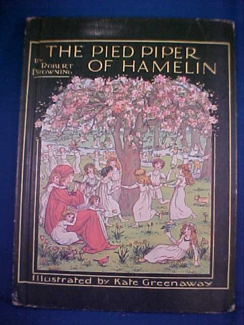 16: The Pied Piper of Hamelin Book.