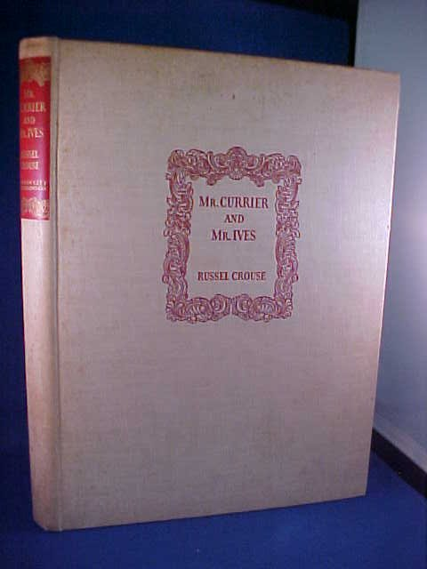 21: 1930 Mr. Currier & Mr. Ives book.