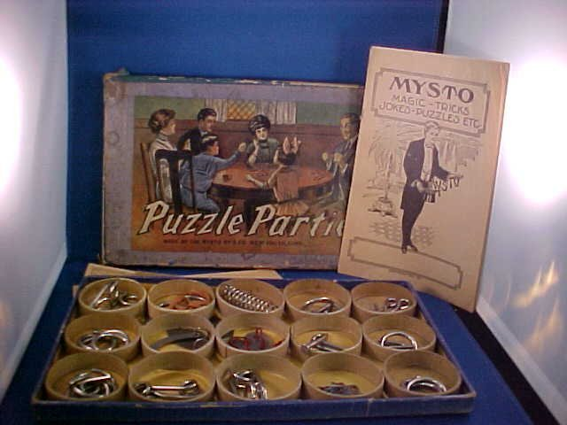 24: Rare & Complete w/box Puzzle Parties game.