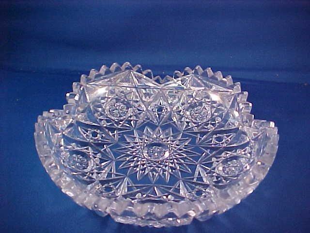 2005: Brilliant Period Cut Glass tray.