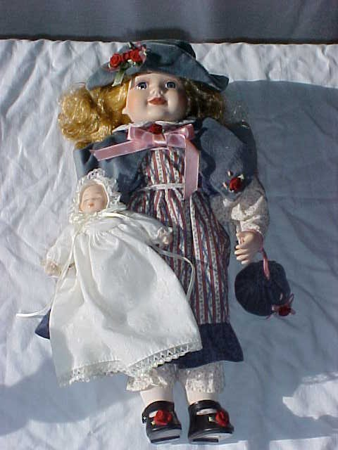 "3005: Tender Heart Treasures Ltd. Alexandria Doll 17""ta"