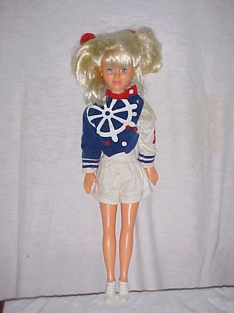 3011: Doll in sailing suite Made in Brazil by Mimo 22""