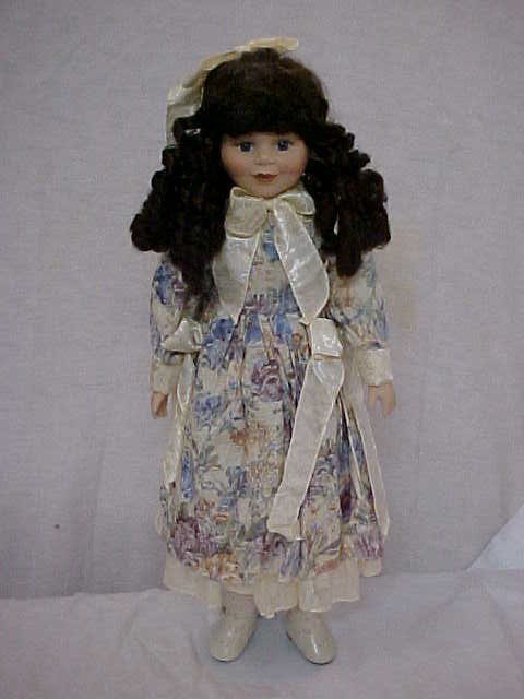 3015: Natalie porcelain doll by Great Western Trading C