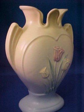 4015: Signed Hull Pottery vase.