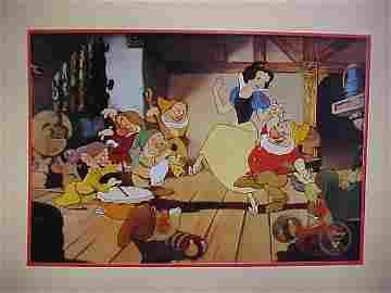 1994 Disney Snow White Animation cel