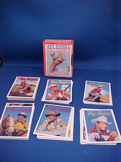 "Roy Rogers ""King of the Cowboys""  collector cards"