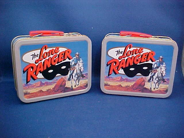 "Pair of ""The Lone Ranger"" commemorative tins"