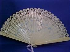 Early ivory fan