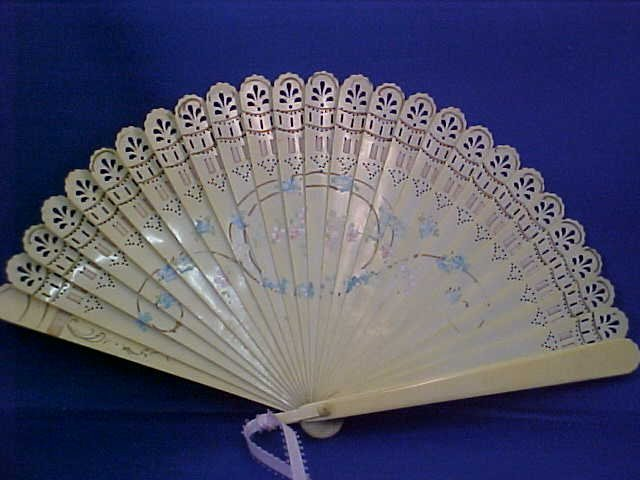 Early ivory fan