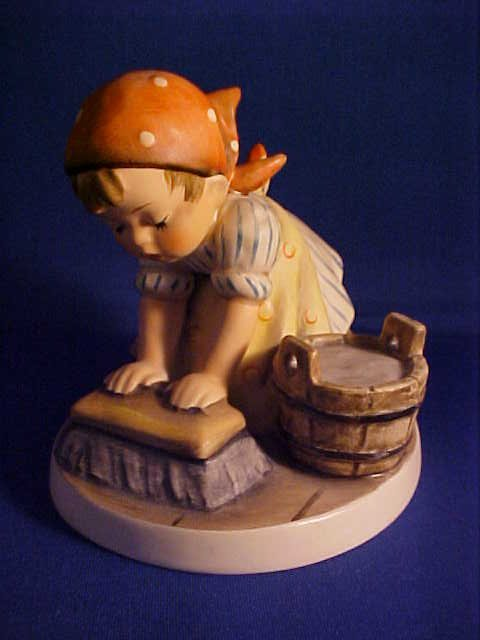 "Hummel figurine Big House Cleaning 3-3/4""."