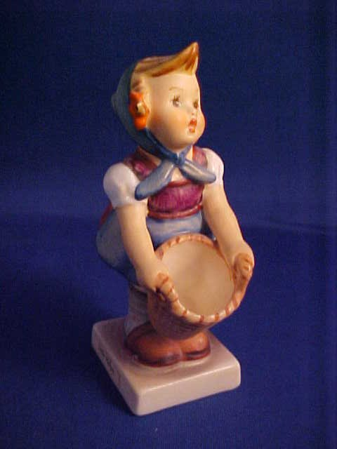 "Hummel figurine Little Helper 4""."