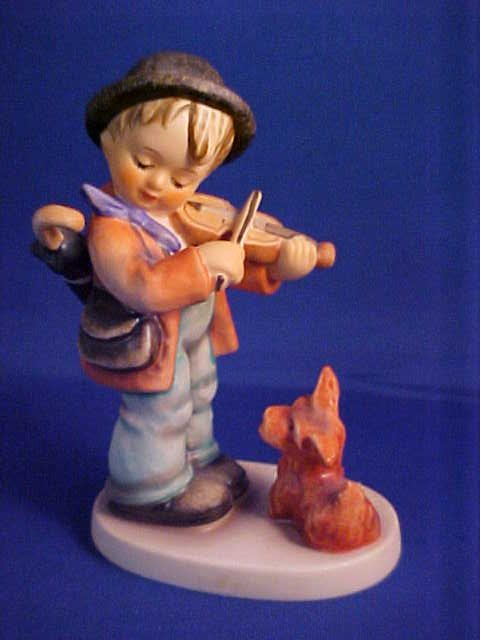 "Hummel figurine Puppy Love 4-3/4""."