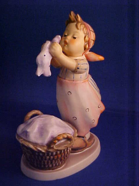 "Hummel figurine Washday 5-1/2""."