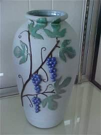 Rare 1 of a kind W.J. Gordy pottery large vase
