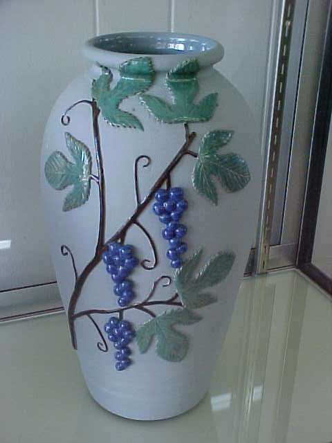 Rare 1 of a kind W.J. Gordy pottery large vase