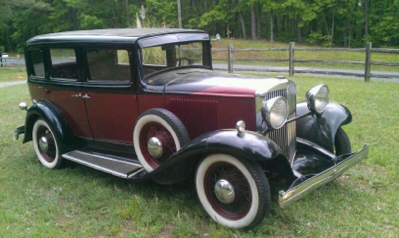 1932 Hupmobile