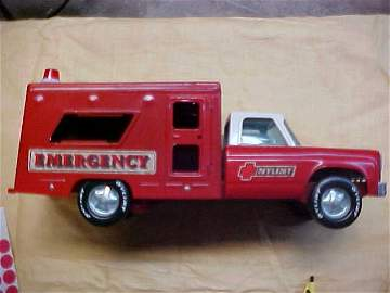 Nylint metal fire truck
