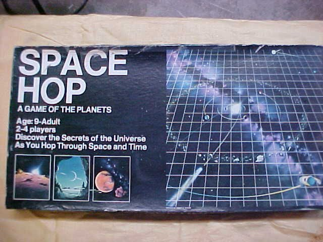 Space Hop game of planets 1981