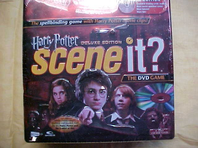 Harry Potter scene it. DVD game NIB.