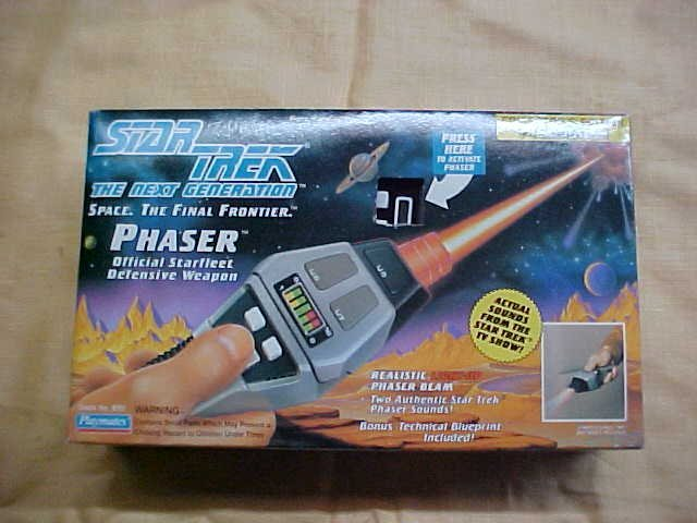 Star Trek Phaser 1992 NIB