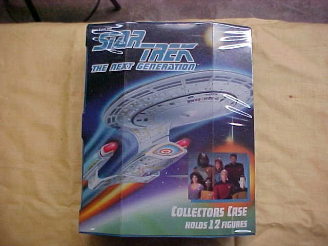Star Trek collectors case holds 12 figures 1993