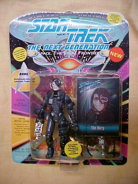 Star Trek Borg figure NIB