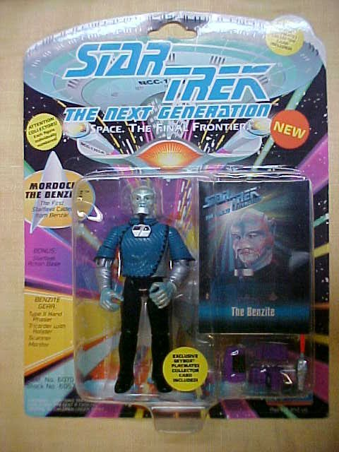 Star Trek Mordock The Benzite the first starfleet