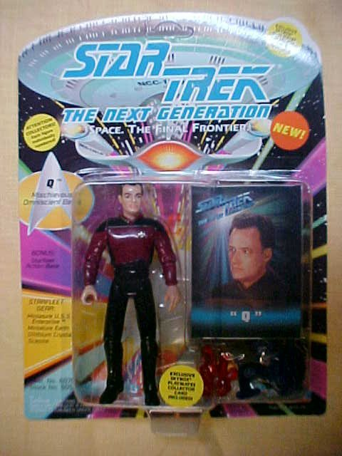 Star Trek Q Mischiverous Omnisceint Being action figure
