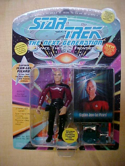 Star trek Captain Jean-Luc Picard 1st season uniform