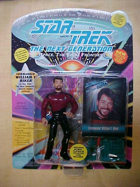 Star Trek Commander William T. Riker 2nd season uniform