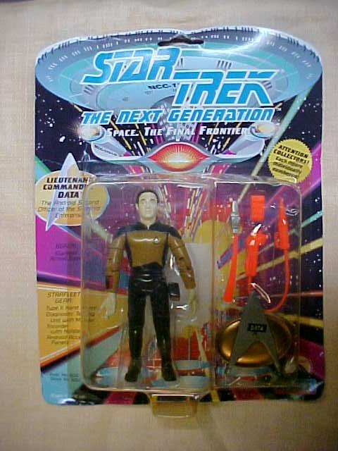 Star Trek Lieutenant Commander Data 2nd officer of Star