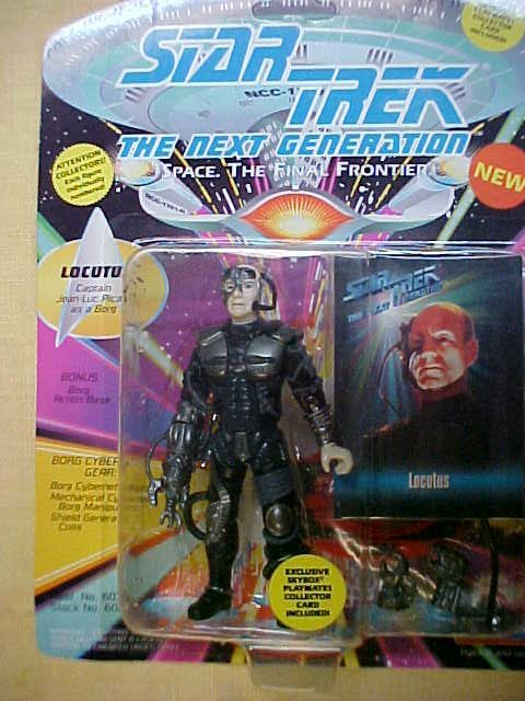 Star Trek Locutus Captain Jean-Luc Picard as Borg