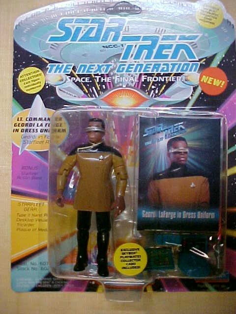 Star Trek Lt. Commander Geordi La Forge in uniform