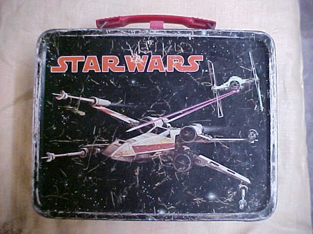 1977 Star Wars Lunch box.