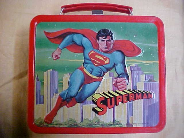 1978 Superman lunch box