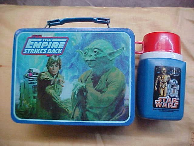 1980 Star wars Lunch box w/1977 thermos