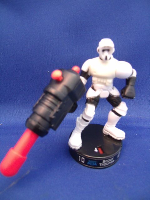 No. 4 Scout Trooper Star Wars Figurine