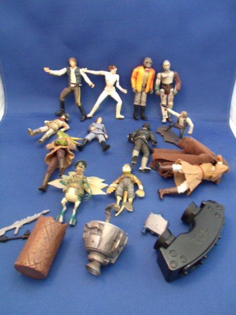 Lot of Star Wars Figurines